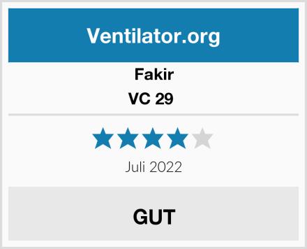 Fakir VC 29  Test