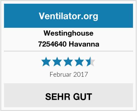Westinghouse 7254640 Havanna Test