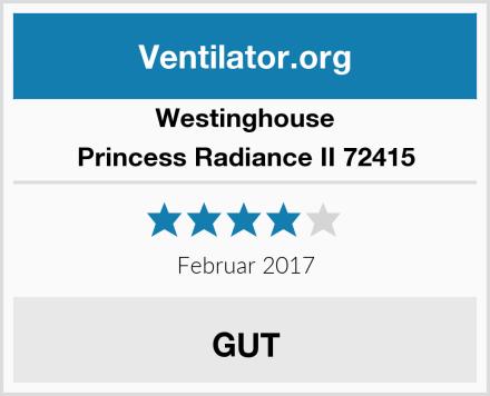 Westinghouse Princess Radiance II 72415 Test
