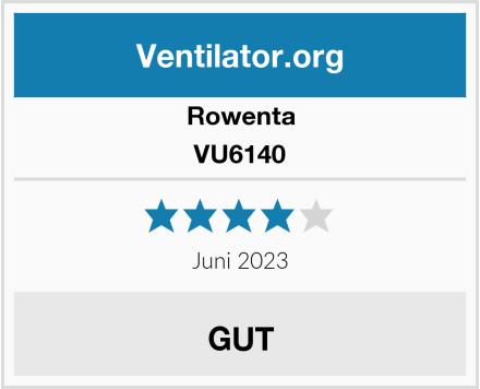 Rowenta VU6140  Test