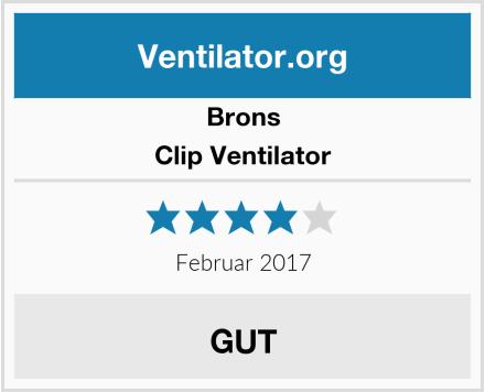 Brons Clip Ventilator Test