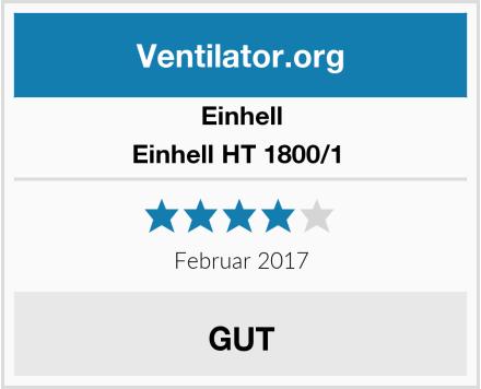 Einhell Einhell HT 1800/1  Test