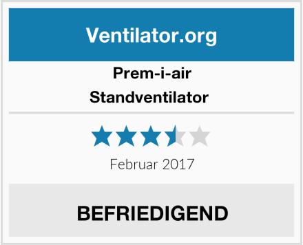 Prem-i-air Standventilator  Test