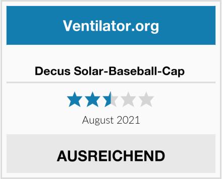 No Name Decus Solar-Baseball-Cap  Test