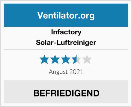 Infactory Solar-Luftreiniger Test