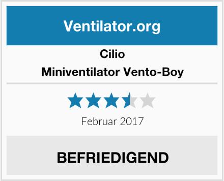 Cilio Miniventilator Vento-Boy Test
