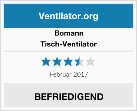 Bomann Tisch-Ventilator Test