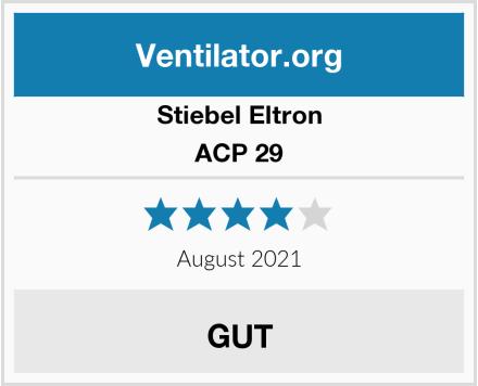 Stiebel Eltron ACP 29 Test