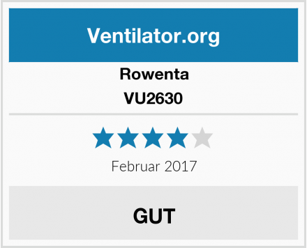Rowenta VU2630 Test