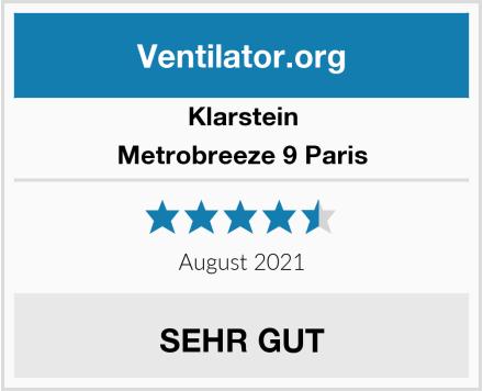 Klarstein Metrobreeze 9 Paris Test