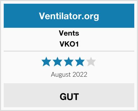 Vents VKO1 Test