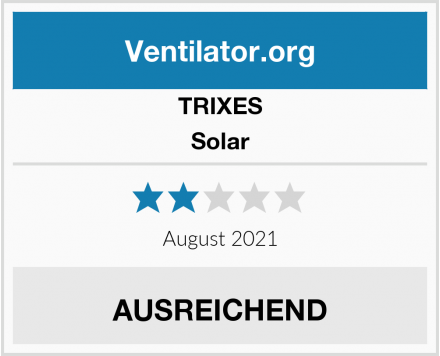 TRIXES Solar Test