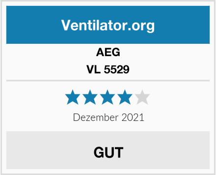 AEG VL 5529 Test
