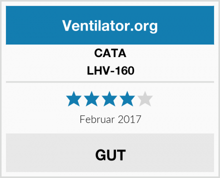 CATA LHV-160 Test