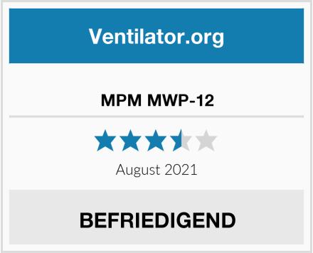 No Name MPM MWP-12 Test