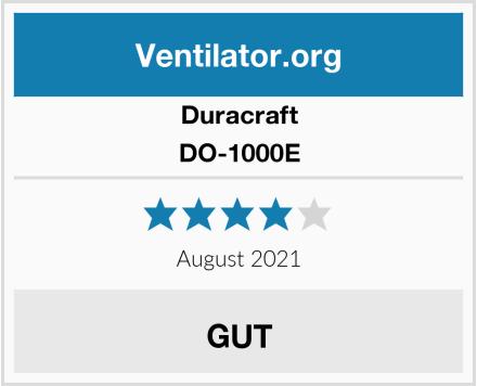 Duracraft DO-1000E Test