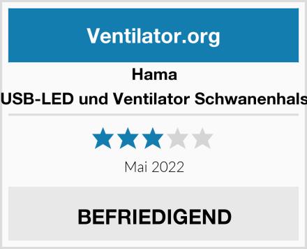Hama USB-LED und Ventilator Schwanenhals Test