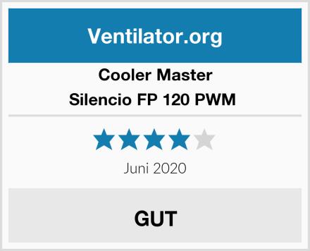 Cooler Master Silencio FP 120 PWM  Test