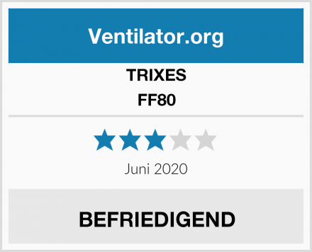 TRIXES FF80 Test