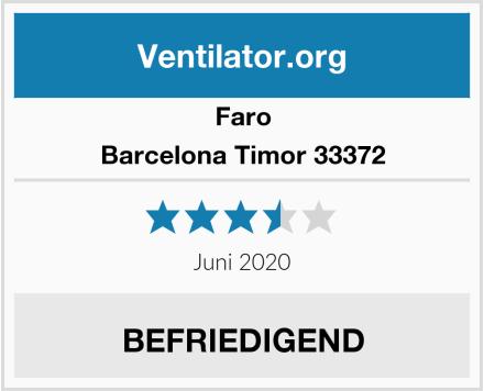 Faro Barcelona Timor 33372 Test