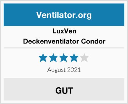 LuxVen Deckenventilator Condor Test