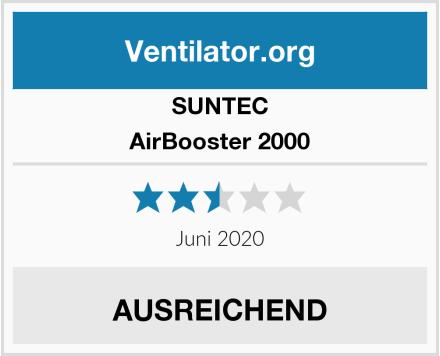 SUNTEC AirBooster 2000 Test