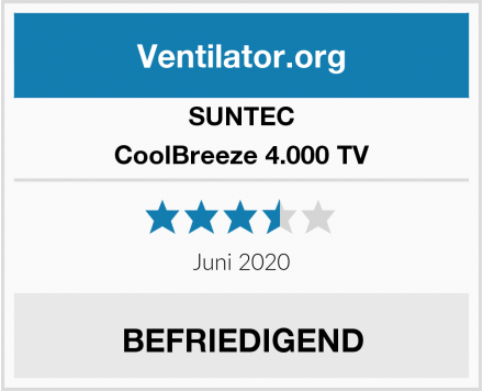SUNTEC CoolBreeze 4.000 TV Test