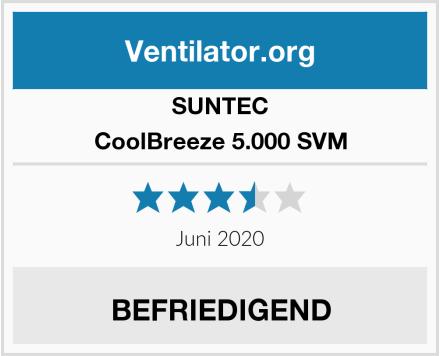 SUNTEC CoolBreeze 5.000 SVM Test