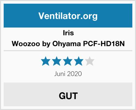 Iris Woozoo by Ohyama PCF-HD18N Test