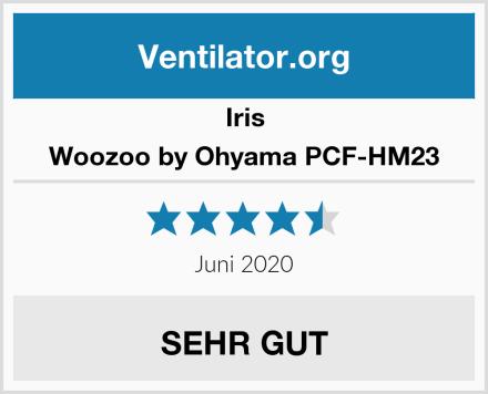Iris Woozoo by Ohyama PCF-HM23 Test