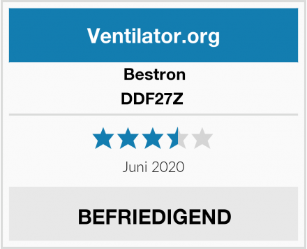 Bestron DDF27Z  Test