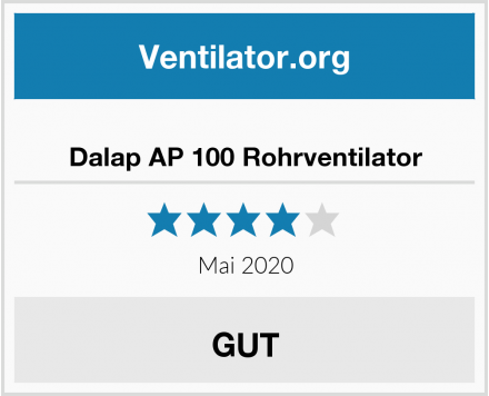 Dalap AP 100 Rohrventilator Test