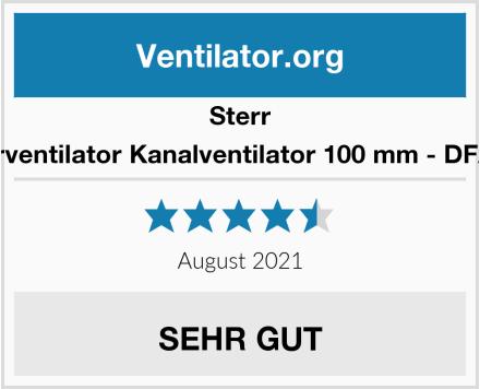 Sterr Rohrventilator Kanalventilator 100 mm - DFA100 Test
