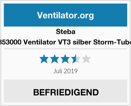 Steba 353000 Ventilator VT3 silber Storm-Tube Test