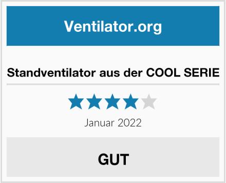 Standventilator aus der COOL SERIE Test