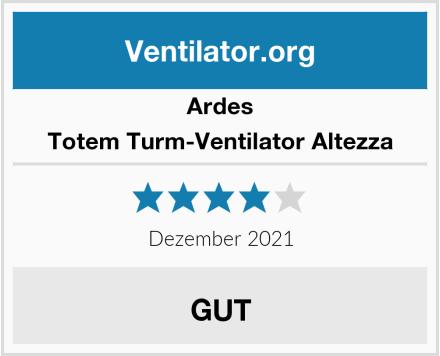 Ardes Totem Turm-Ventilator Altezza Test