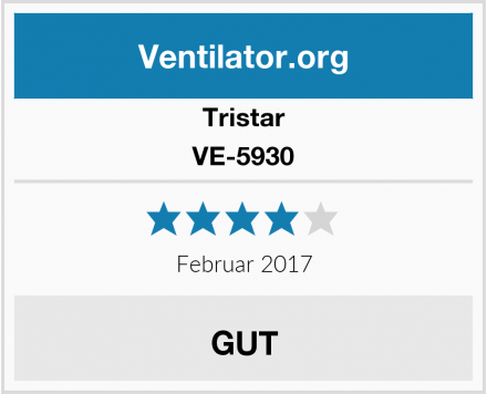 Tristar VE-5930 Test