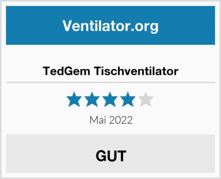TedGem Tischventilator Test