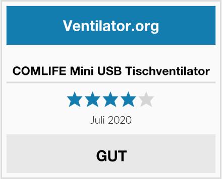 COMLIFE Mini USB Tischventilator Test