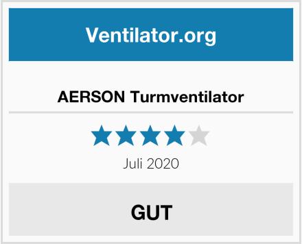 AERSON Turmventilator Test