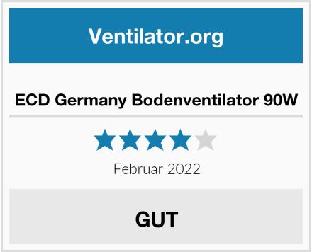 ECD Germany Bodenventilator 90W Test