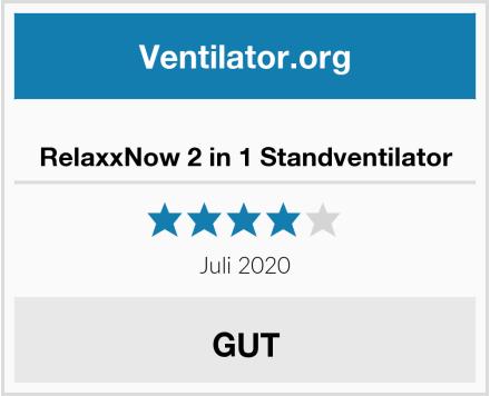 RelaxxNow 2 in 1 Standventilator Test