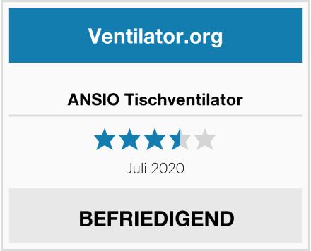 ANSIO Tischventilator Test