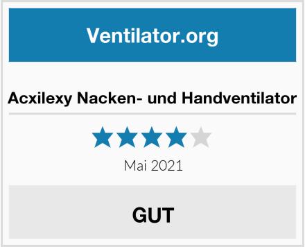 Acxilexy Nacken- und Handventilator Test