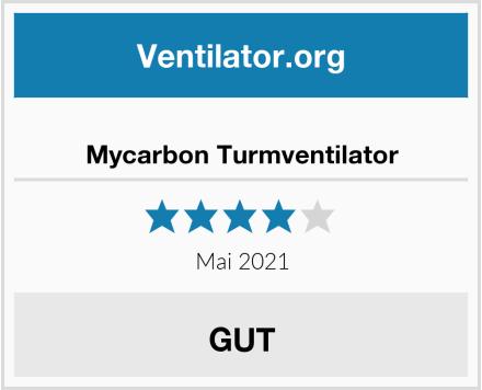 Mycarbon Turmventilator Test
