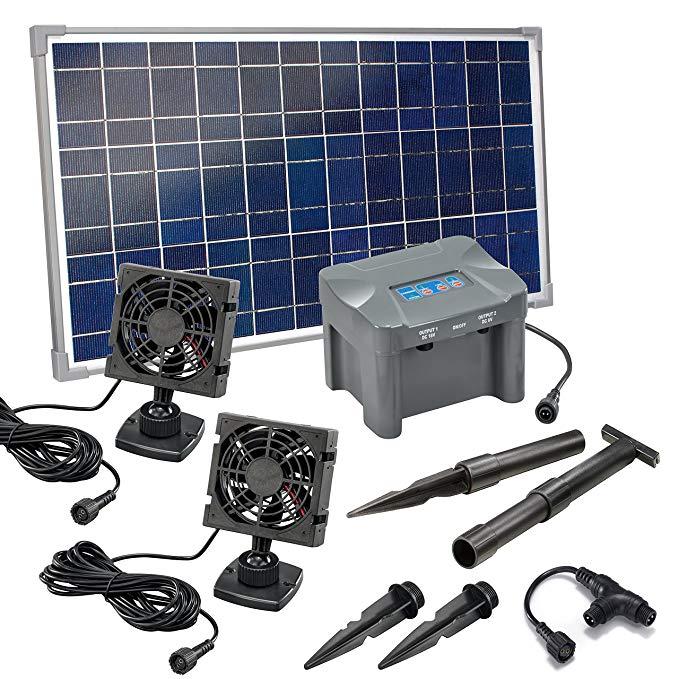 Esotec Solar Lüfterset 25W DUO