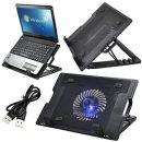 TRIXES Laptopständer mit eingebautem Ventilator